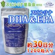 Algae Spirulina, DHA&EPA, Спирулина с Омега-3 1200 табл