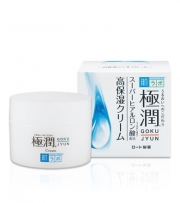HADA LABO Gokujyun Moist Cream, Увлажняющий крем с гиалуроновой кислотой 50 г