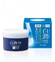 HADA LABO Shirojyun Whitening Cream, Отбеливающий крем, 50гр
