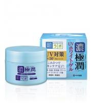 HADA LABO Gokujyun UV White Gel, 2 в 1 уходовый гель + защита от солнца SPF50 + PA ++++, 90гр