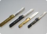 Hagonokami Tokusen tasoukou Aogami-Tanzou, Складной нож из дамасской стали 10, 12 см