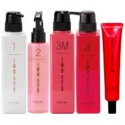 """LEBEL IAU Cell Care M type (5 unit), Система ухода за волосами с эффектом гладкости """"Абсолютное счастье для волос"""" 5 штук"""