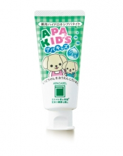 Apagard Apa Kids Tooth Gel, Детская зубная паста с гидриаксиапатитом для первых зубиков 60 г