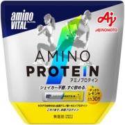 Ajinomoto Amino Protein, Амино Протеин со вкусом лимона 30 саше-пакетов