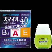 Lion Smile 40 EX Super Cool, Глазные капли сильно освежающие 13 мл