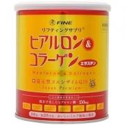 FINE Hyaluronic Acid & Collagen+Coenzyme Q10, Коллаген & Гиалуроновя кислота + Коэнзим Q10 на 28 дней