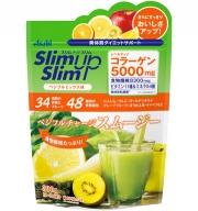 ASAHI SlimUpSlim Charge Smoothie, Протеиновый смузи с коллагеном и пищевыми волокнами со вкусом овощей и фруктов 300 г