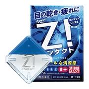 ROHTO Z! CONTACT, Глазные капли освежающие для контактных линз 12 мл