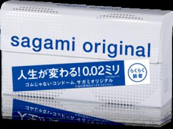 Sagami Original quick 0.02, 6 шт