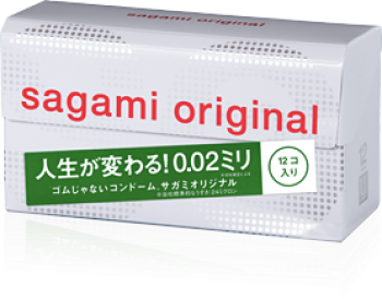 Sagami Original 0.02  12 шт
