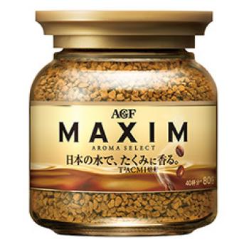 """Кофе растворимый сублимированный, AGF """"Maxim"""" Aroma Select 80гр"""